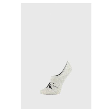 Damskie skarpetki Calvin Klein Brooklyn szare