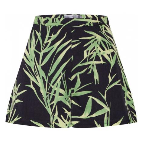 Missguided Spodnie zielony / czarny