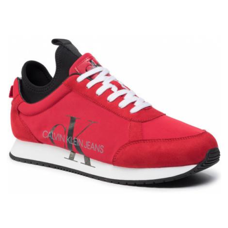 Calvin Klein Jeans Sneakersy Jemmy B4S0136 Czerwony