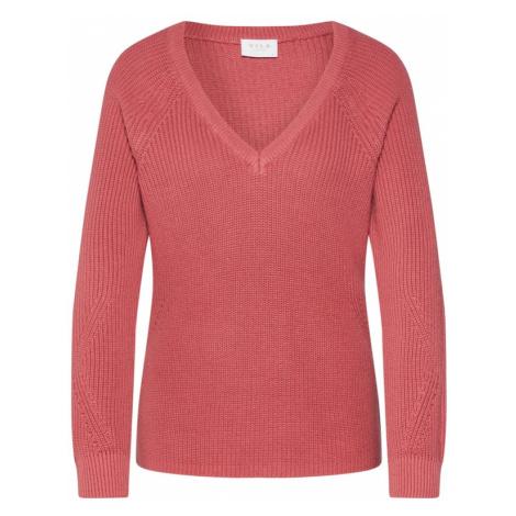 VILA Sweter 'VIMYNTANI' różowy