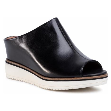 Klapki TAMARIS - 1-27200-24 Black Leather 003