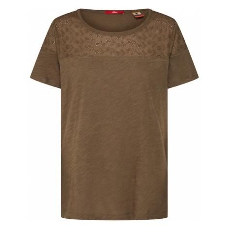 S.Oliver RED LABEL Koszulka khaki