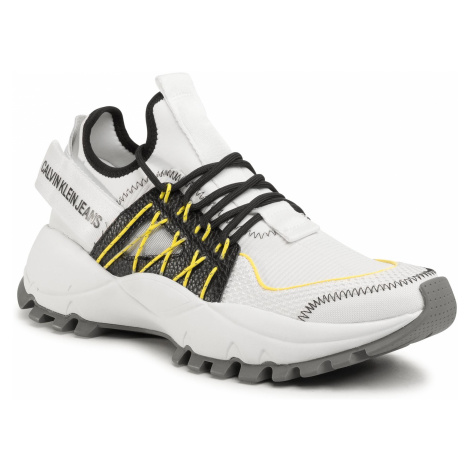 Sneakersy CALVIN KLEIN JEANS - Tolbek B4S0663 White/Black