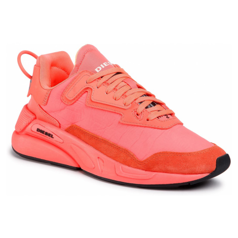 Sneakersy DIESEL - S-Serendipity Lc W Y02350 P3390 H8096 Coral Fluo