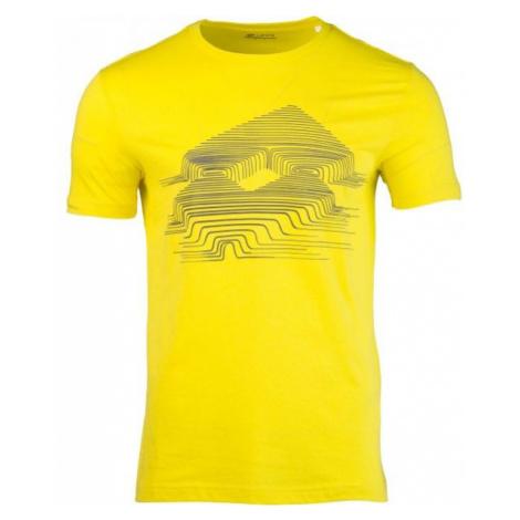 Lotto L73 V TEE LOTTO JS żółty M - Koszulka męska