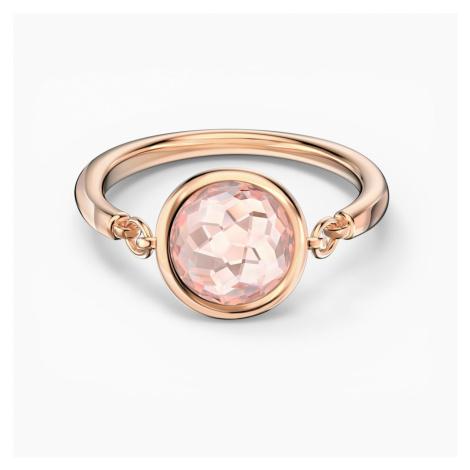 Pierścionek Tahlia, różowy, w odcieniu różowego złota Swarovski