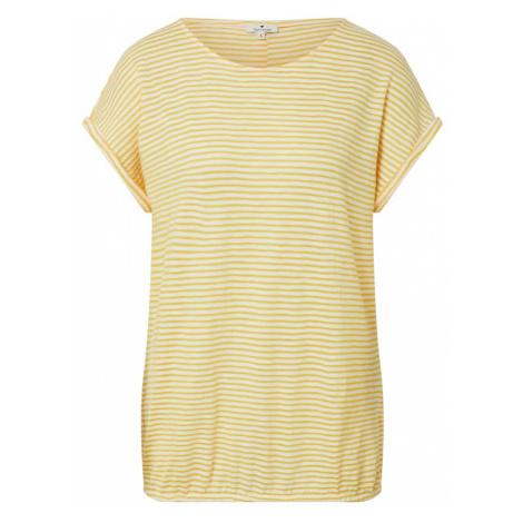 TOM TAILOR Koszulka żółty