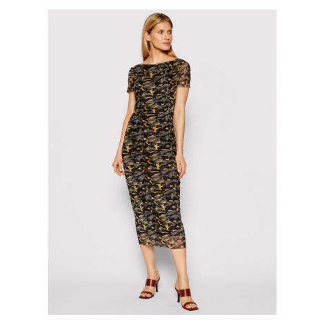 Patrizia Pepe Sukienka codzienna 8A0841/A8T7-XF80 Zielony Slim Fit