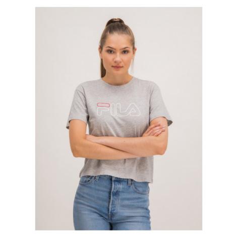 Fila T-Shirt 687271 Szary Regular Fit