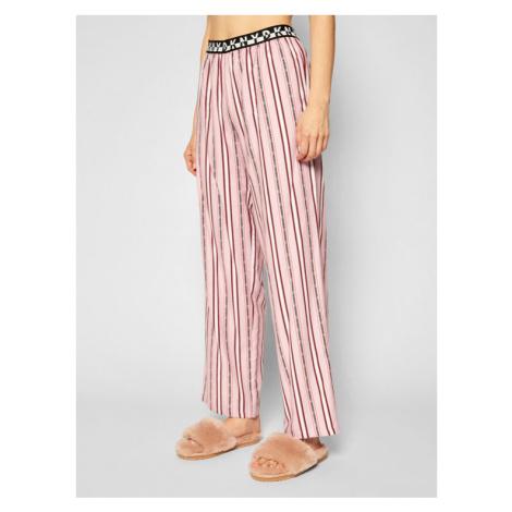 DKNY Spodnie piżamowe YI2722412 Różowy