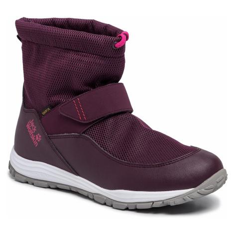 Śniegowce JACK WOLFSKIN - Kiwi Wt Texapore Mid K 4036201 D Purple/Pink