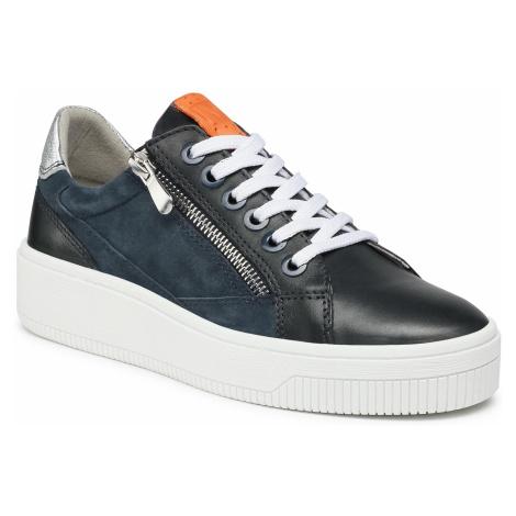 Sneakersy MARCO TOZZI - 2-23769-26 Navy Comb 890