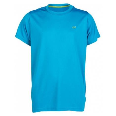 Kensis VIN niebieski 116-122 - Koszulka chłopięca