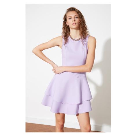Sukienka z kółka zamachowego Trendyol Lila