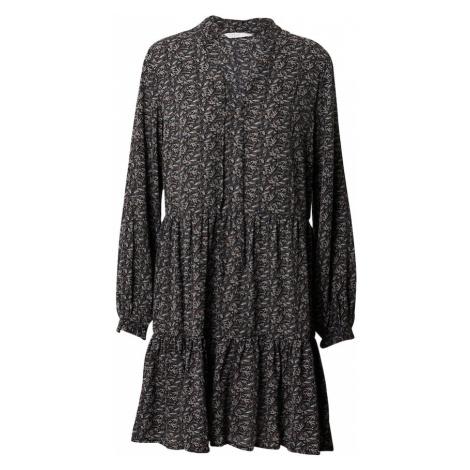 ONLY Sukienka 'ASSIA' czarny / biały / brązowy