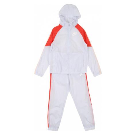 Nike Sportswear Garnitur biały / czerwony