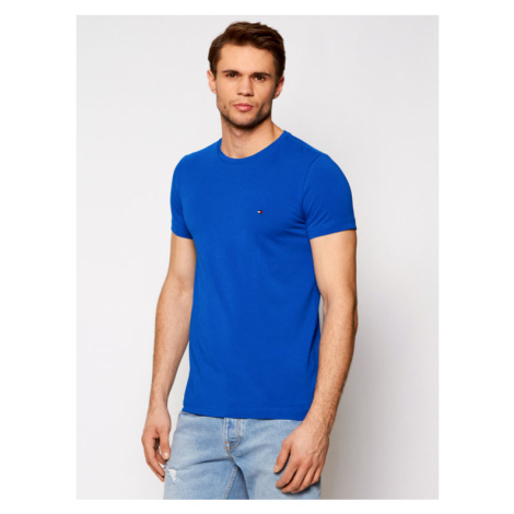 Tommy Hilfiger T-Shirt MW0MW10800 Niebieski Slim Fit