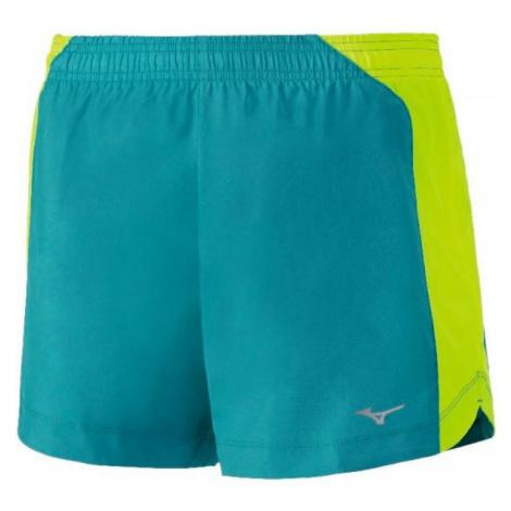 Mizuno IMPULSE CORE SQUARE 5.5 W zielony S - Spodenki sportowe damskie