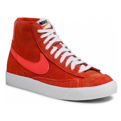 Nike Buty Blazer Mid '77 Vntg Suede Mix Pomarańczowy