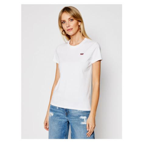 Levi's® T-Shirt Perfect Tee 39185-0006 Biały Regular Fit Levi´s
