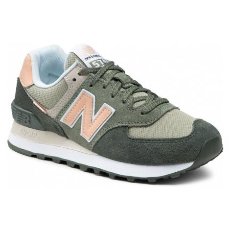 Sneakersy NEW BALANCE - WL574SZ2 Zielony