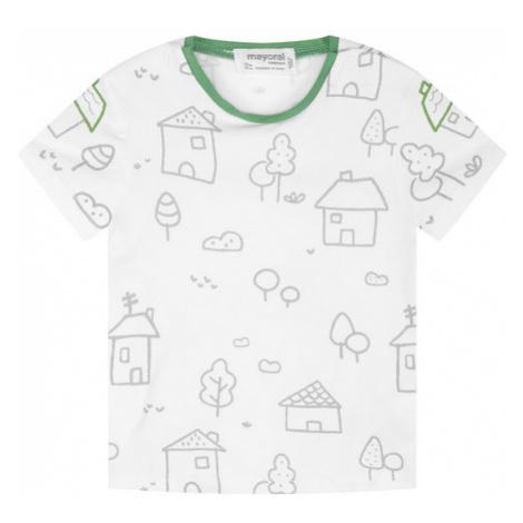 Mayoral Komplet T-shirt i ogrodniczki 1665 Szary Regular Fit