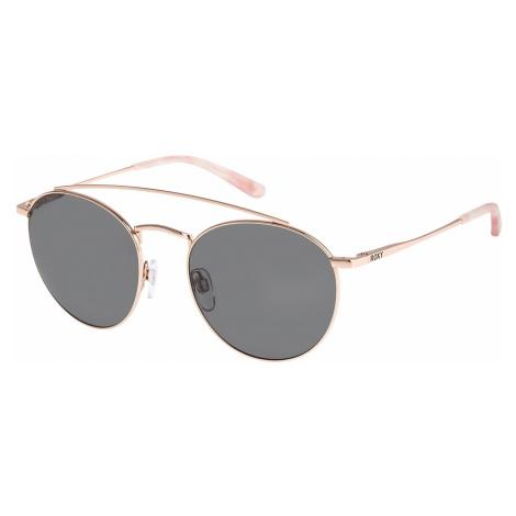 okulary Roxy Flume - XNNB/Shiny Rose Gold/Gray