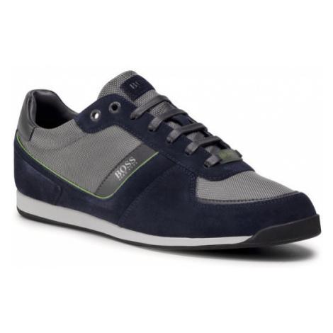 Boss Sneakersy Glaze 50407903 10214592 01 Granatowy Hugo Boss