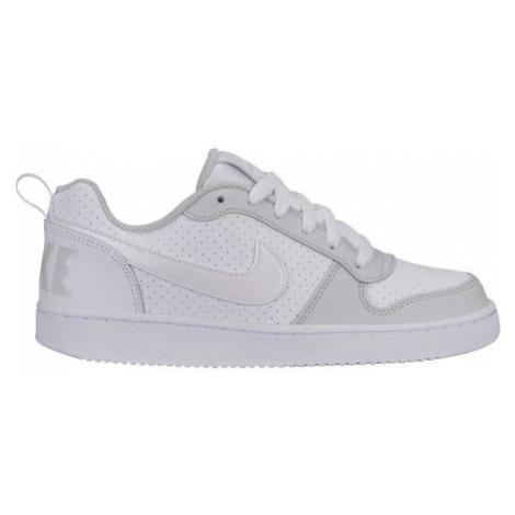 Nike COURT BOROUGH LOW - Obuwie miejskie dziewczęce