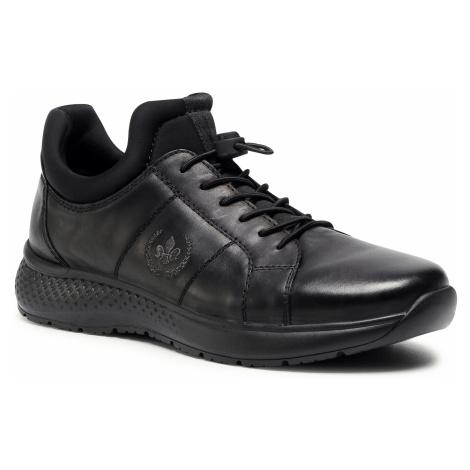 Sneakersy RIEKER - B7694-00 Schwarz