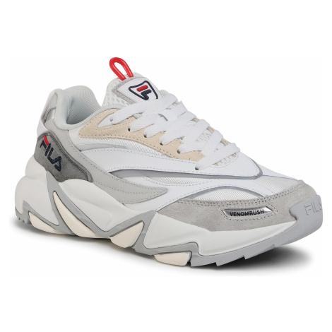 Sneakersy FILA - Venomrush Wmn 1011027.84T White/Gray Violet