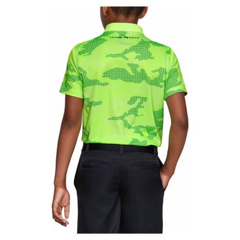 Under Armour Performance Polo Koszulka dziecięce Zielony