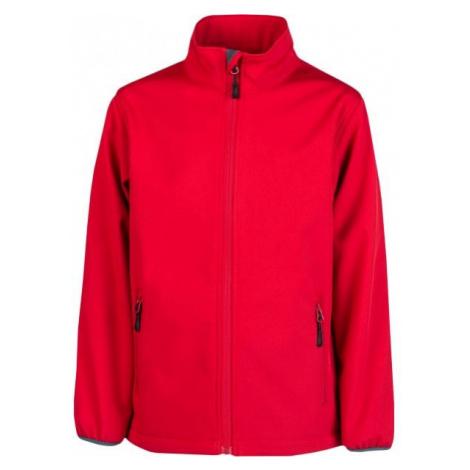 Kensis RORI JR czerwony 140-146 - Kurtka softshell chłopięca
