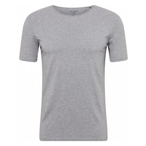 OLYMP Koszulka srebrno-szary