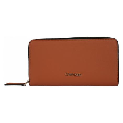 Calvin Klein Portmonetka 'MUST ZIPAROUND' brązowy