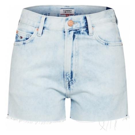 Tommy Jeans Jeansy niebieski denim / czerwony / biały Tommy Hilfiger