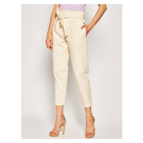 Spodnie materiałowe Calvin Klein