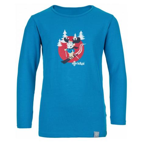Bawełniany t-shirt dziecięcy Lero-j blue - Kilpi