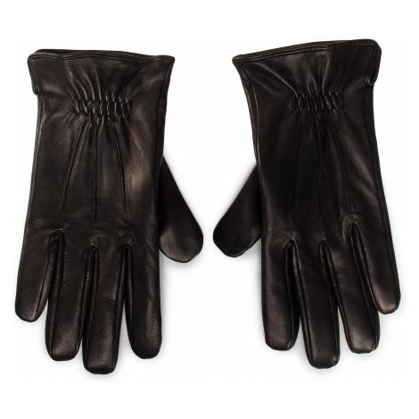 Rękawiczki Męskie GINO ROSSI - AR0185-000-OG00-9900-T Czarny