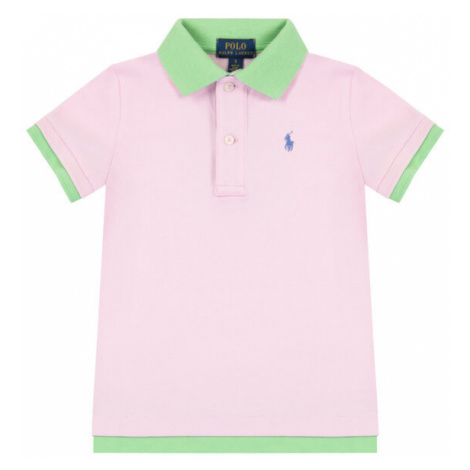 Polo Ralph Lauren Polo 313793937 Różowy Regular Fit