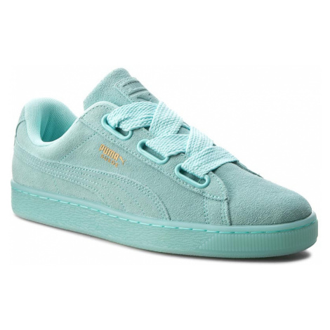 Sneakersy PUMA - Suede Heart Reset Wn's 363229 01 Aruba Blue/Aruba Blue