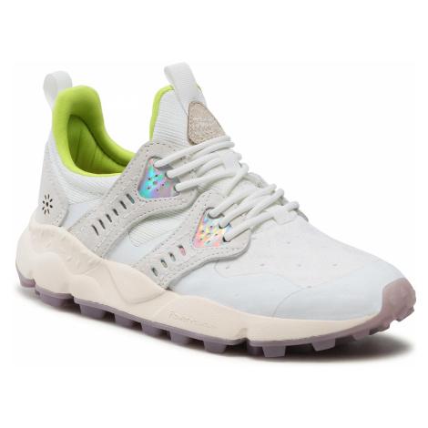Sneakersy FLOWER MOUNTAIN - Corax 0012015672.04.0N01 White