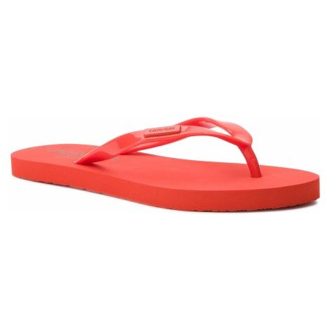 Japonki CALVIN KLEIN SWIMWEAR - Ff Sandal KW0KW00395 659