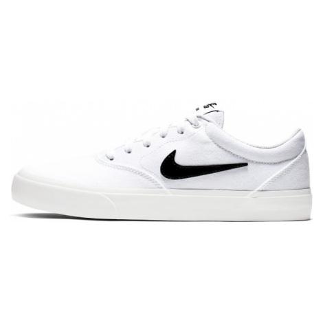 Buty do skateboardingu Nike SB Charge Canvas - Biel