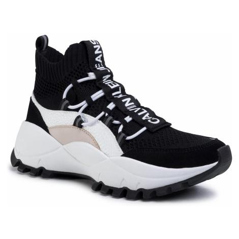 Sneakersy CALVIN KLEIN JEANS - Timotea B4R0881 Black/Stone