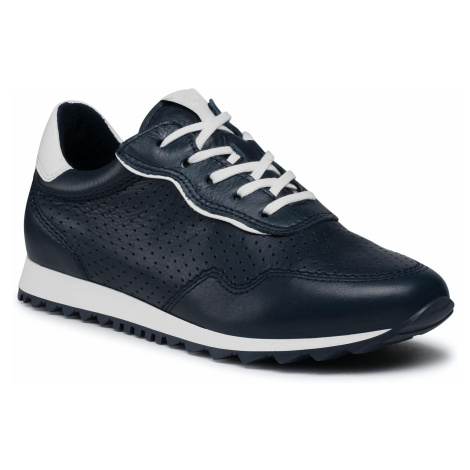 Sneakersy TAMARIS - 1-23618-26 Navy/White 810
