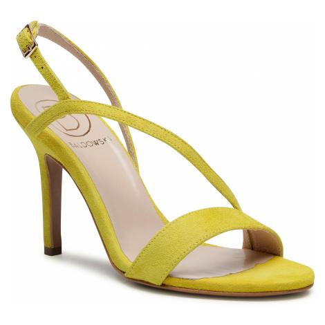 Sandały BALDOWSKI - D03523-3436-007 Zamsz Żółty