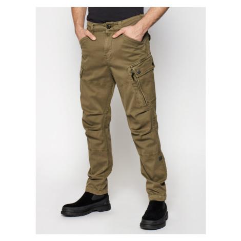 G-Star Raw Spodnie materiałowe Roxic D14515-C096-C249 Zielony Regular Fit