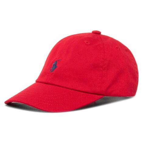 Czapka z daszkiem POLO RALPH LAUREN - Bsr 710548524002 Red RL2000