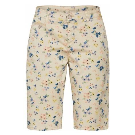 ESPRIT Spodnie kremowy / mieszane kolory